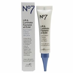 Boots No7 Lift & Luminate Eye Cream- .5 fl oz