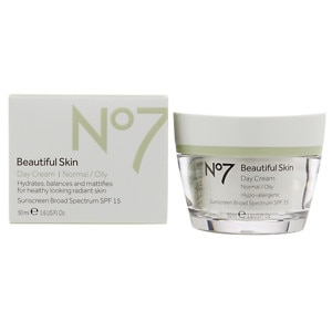 Boots No7 Beautiful Skin Day Cream, Normal / Oily