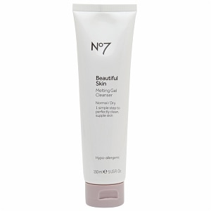 Boots No7 Beautiful Skin Melting Gel Cleanser, Normal / Dry