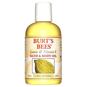 Burt's Bees Body & Bath Oil, Lemon & Vitamin E, 4 fl oz Health Fitness Skin Care Beauty Supply Deals