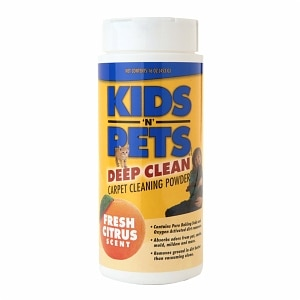 Kids'N Pets Deep Clean Carpet Powder, Fresh Citrus- 16 oz