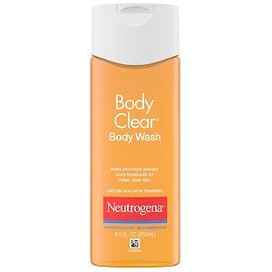 Neutrogena Body Clear Body Wash, Salicylic Acid Acne Treatment
