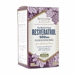 ReserveAge Organics Resveratrol 500mg, Veggie Caps