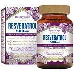 ReserveAge Organics Resveratrol 500mg, Veggie Caps- 30 ea