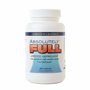 Absolute Nutrition Absolutely FULL Appetite Suppressant, Capsules, 60 ea