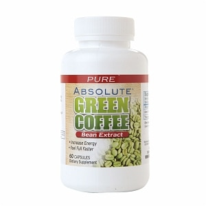 Absolute Nutrition Absolute Green Coffee Bean Extract, Capsules, 60 ea