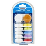Walgreens Screw-Top Contact Lens Cases, 6 Pack