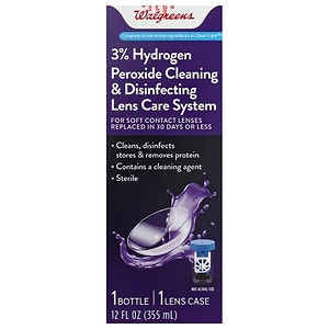 Walgreens Hydrogen Peroxide Cleaning & Disinfecting Solution