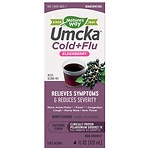 Nature's Way Umcka Soothing Syrup, Intensive Cold + Flu, Berry- 4 oz