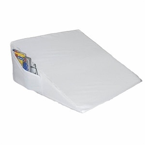 Rose Healthcare Space Saver Wedge with Pocket, 10 inch high