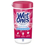 Wet Ones Antibacterial Hand Wipes, Fresh