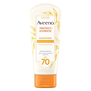 Aveeno Active Naturals Protect + Hydrate SPF 70 Lotion- 3 oz