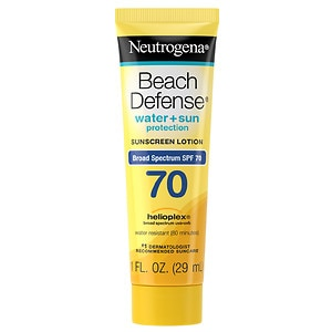 Neutrogena Beach Defense SPF 70 Sunscreen Lotion- 1 oz