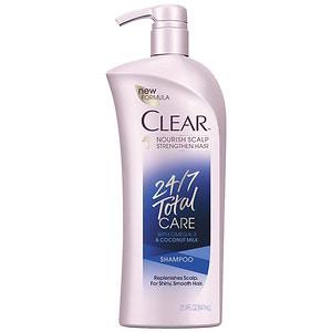 Clear 24/7 Total Care Shampoo- 21.9 fl oz