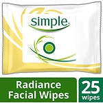 Simple Radiance Cleansing Facial Wipes