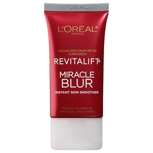 L'Oreal Paris Revitalift Miracle Blur Instant Skin Smoother Finishing Cream, SPF 30- 1.18 fl oz