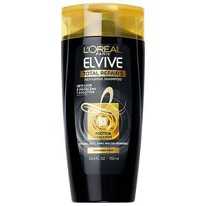L'Oreal Paris Advanced Haircare Total Repair 5 Restoring Shampoo, Family Size- 25.4 fl oz