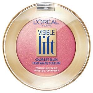 L'Oreal Paris Visible Lift Color Lift Blush, Peach Gold Lift 184