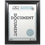 Home Elements Plastic Document Frame 8.5 x 11 in