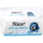 Nice! Flushable Moist Wipes Refill