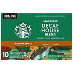 Starbucks K-Cups, House Blend Decaf- .42 oz