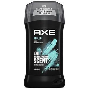 AXE Fresh 24 Hour Deodorant Stick, Apollo, 3 oz
