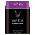 AXE Deodorant Body Spray, Twin Pack, Excite