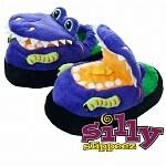 Silly Slippeez Dizzy Dinosaur, XLarge- 1 ea