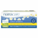 Natracare Organic All-Cotton Tampons with Applicator, Regular