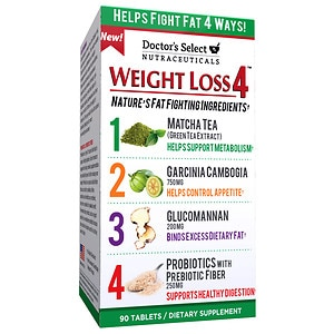 Doctor's Select Nutraceuticals Weight Loss 4, Tablets- 90 ea