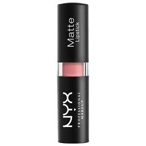 NYX Matte Lipstick, Pale Pink (Light Pink)