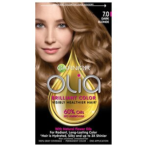 Garnier Olia Permanent Haircolor, 7.0 Dark Blonde