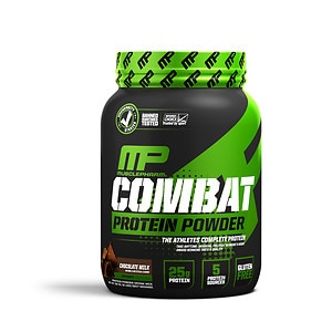 MusclePharm Combat Advanced Time Released Protein, Chocolate Milk