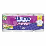 Quilted Northern Ultra Plush Bath Tissue, Triple Rolls
