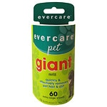 Evercare Pet Giant Roller Refill- 60 ea