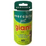 Evercare Pet Giant Roller Refill- 60 ea