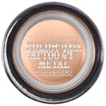 Maybelline Eye Studio Color Tattoo Metal 24hr Cream Gel Shadow, Barely Branded- .14 oz