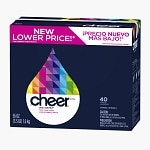 Cheer Ultra Powder Detergent, 40 Loads, Fresh Clean