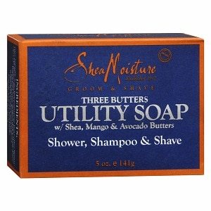 SheaMoisture Three Butters Utility Soap- 5 oz