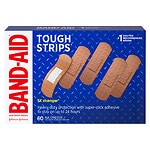 Band-Aid Brand Adhesive Bandages Tough Strips