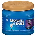 Maxwell House Ground Coffee, French Roast- 29.3 oz