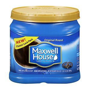Maxwell House Ground Coffee, Original Roast