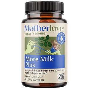 Motherlove More Milk Plus, Capsules- 60 ea