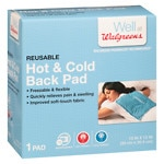 Walgreens Hot & Cold Back Pad- 1 ea