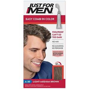 Just For Men AutoStop Haircolor, Light-Medium Brown A-30- 1 ea