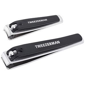 Tweezerman Combo Clipper Set, Stainless Steel- 1 ea