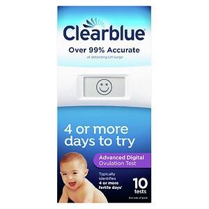 Clearblue Advanced Digital Ovulation Test- 10 ea