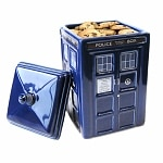 Doctor Who TARDIS Ceramic Cookie Jar Ages 8+- 1 ea