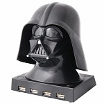 Star Wars Darth Vader USB Hub Ages 3+- 1 ea