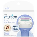 Schick Intuition Pure Nourishment with Coconut Milk & Almond Oil Razor Refills